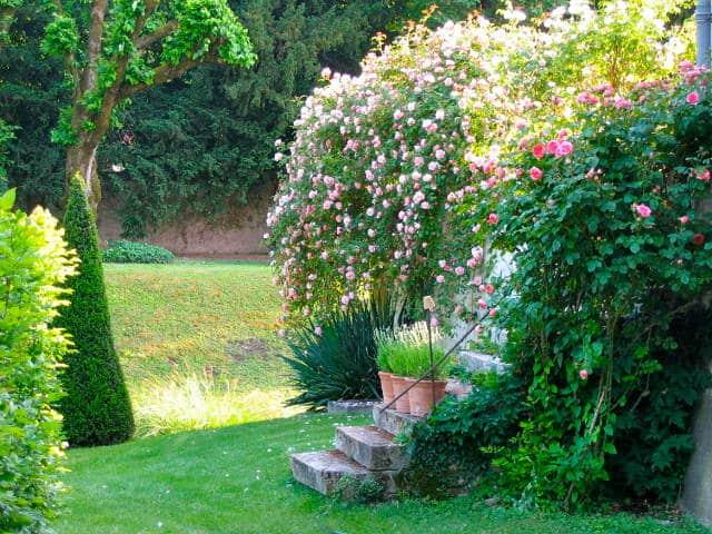 Parcs et jardins romantiques proximit du domaine de la for Jardin romantique anglais