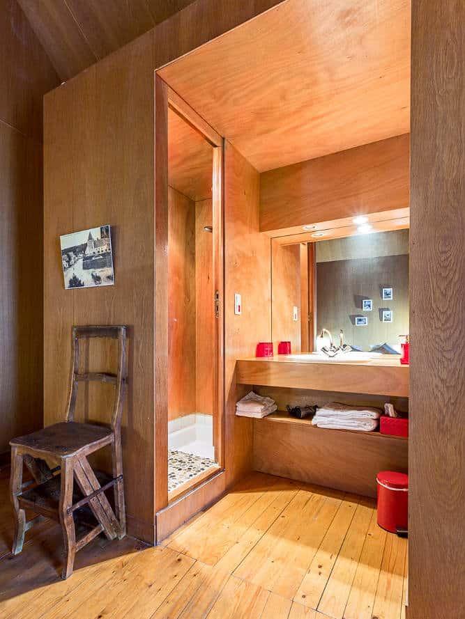 salle de bains Cabane proche Sancerre